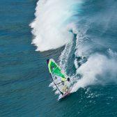 Tom Hartmann, Goyasails, Goya boards, Banzai sail, Mauritus windsurfing, One eye windsurf