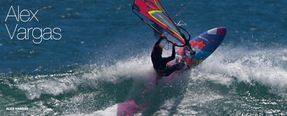 Alex Vargas loves waves and his Quatro Quads